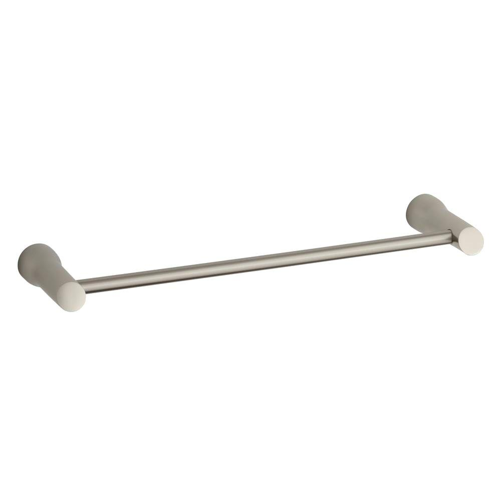 Toobi 18 In. Towel Bar In Vibrant Brushed Nickel