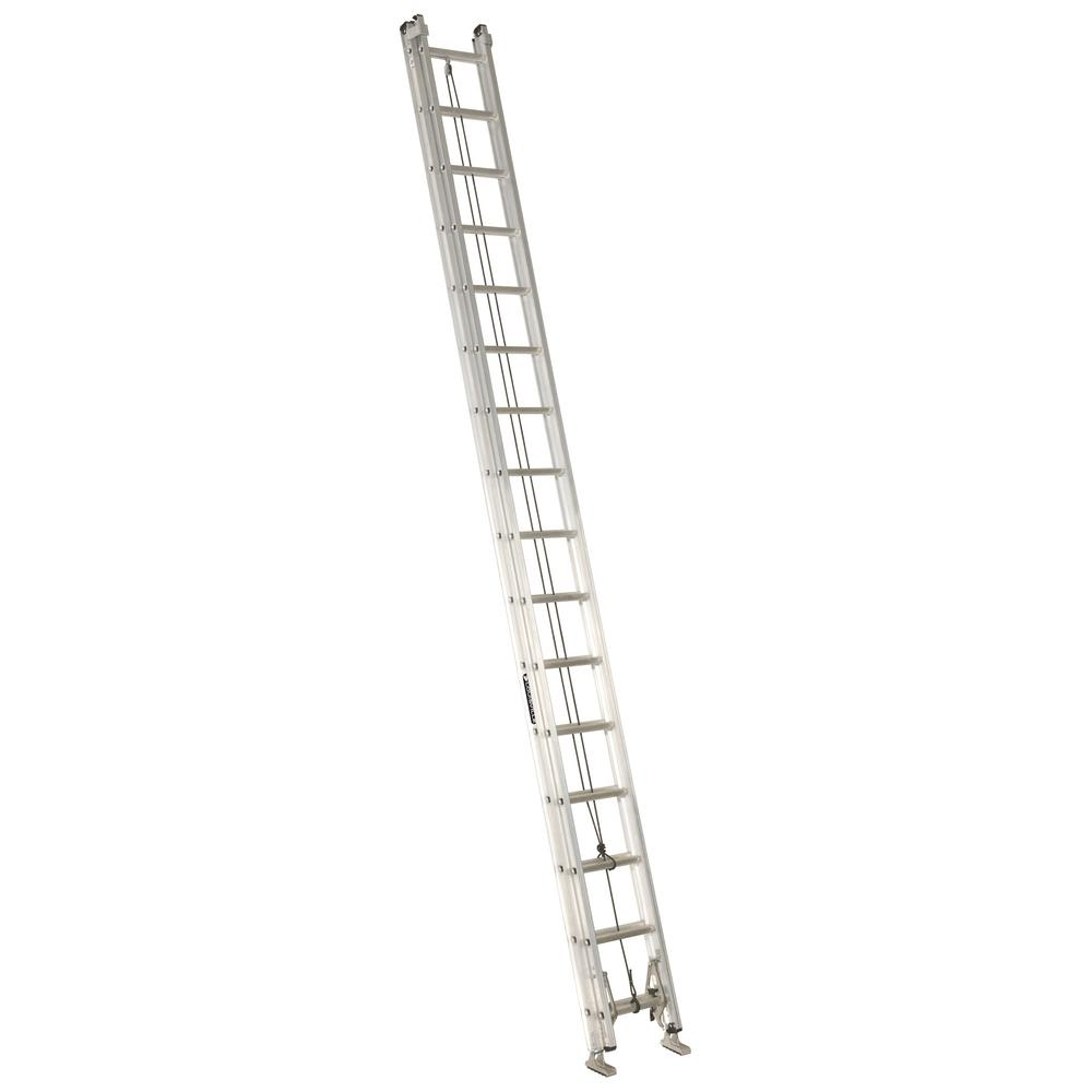 Louisville 32 ft. Aluminum Extension Ladder with 300 lbs....