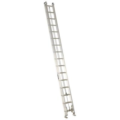 32 ft. Aluminum Extension Ladder with 300 lbs. Load Capacity Type IA Duty Rating