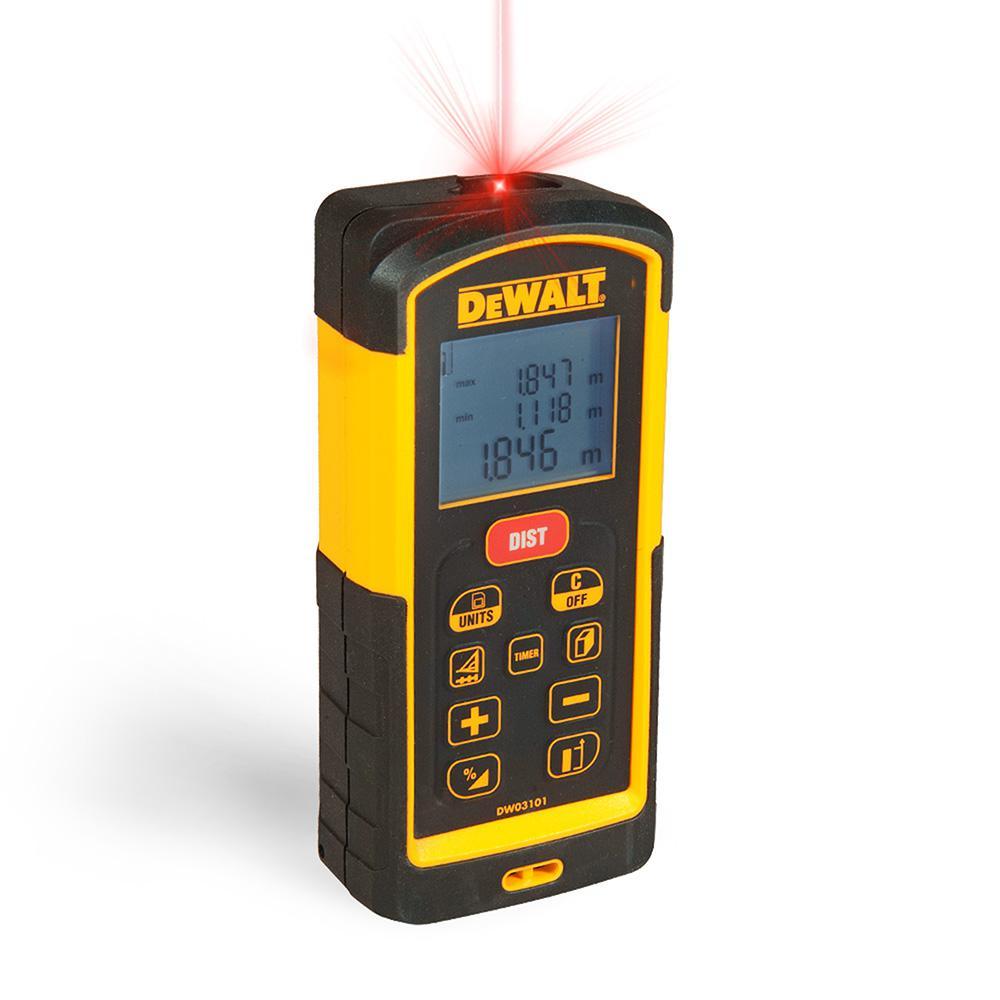 Dewalt 330 ft laser distance measurer dw03101 the home for Decor 52 fan celano ma dw