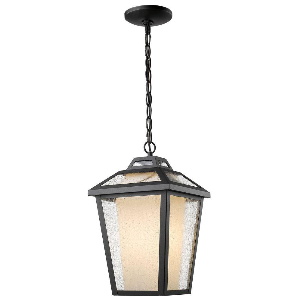 Filament Design Arnett 1-Light Black Outdoor Hanging