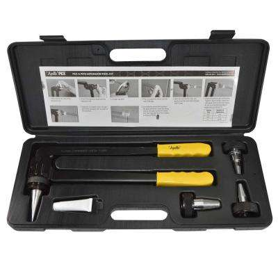 PEX-a Expansion Tool Kit with 1/2 in., 3/4 in. and 1 in. Expander Heads