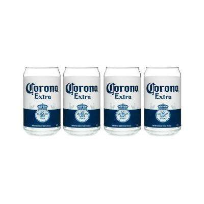 Corona 16 oz. Can Glass (Set of 4)