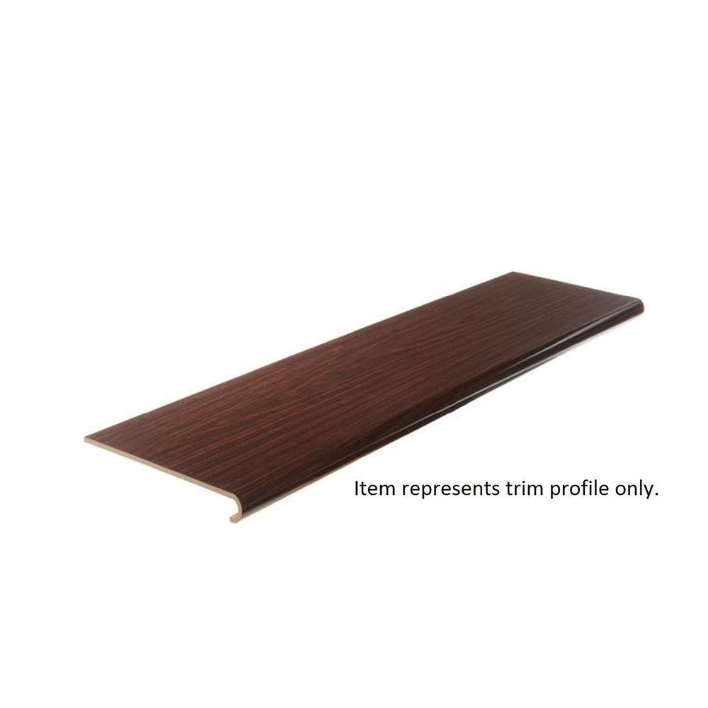 Cap A Tread Natural Cork 94 in. Long x 12-1/8 in. Deep x 1-11/16 in. Height Vinyl to Cover Stairs 1 in. Thick