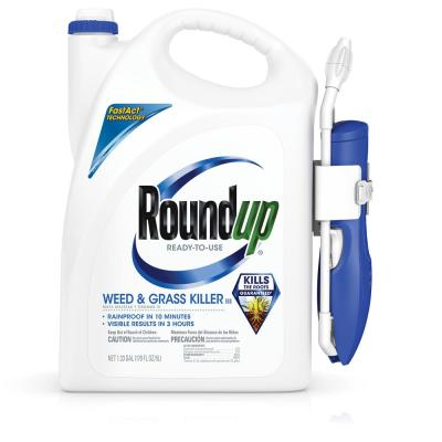 1.33 Gal. Ready-to-Use Weed and Grass Killer Plus Comfort Wand
