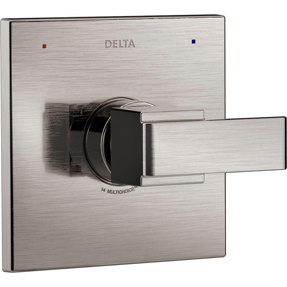Delta Ara Monitor 14 Series 1-Handle Temperature Control Valve Trim ...