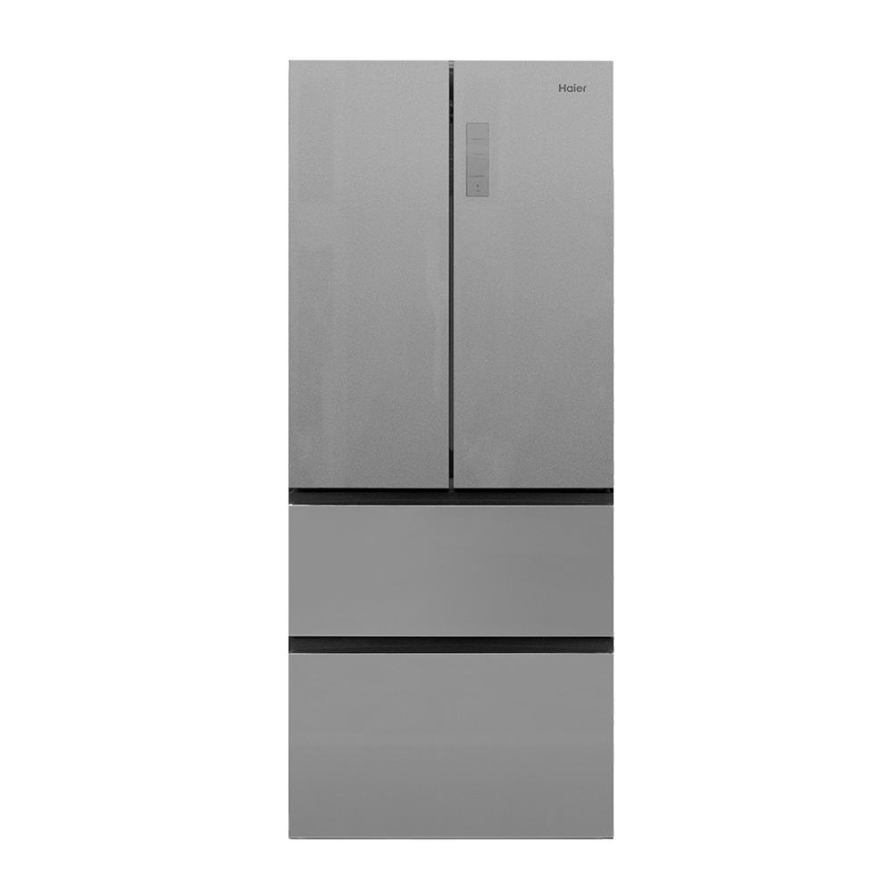 Haier 28 In W 150 Cu Ft French Door Refrigerator In Stainless