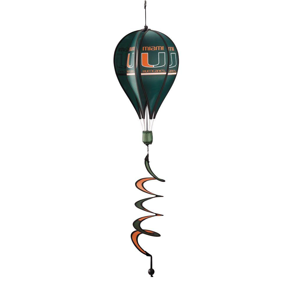 BSI Products NCAA Miami Hurricanes Hot Air Balloon Spinner