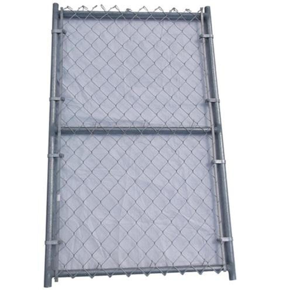 6 ft. W x 4 ft. H Metal Single Reinforced Fence