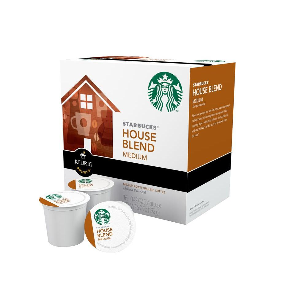 null Kcup Pack Starbucks House Blend 96 Count