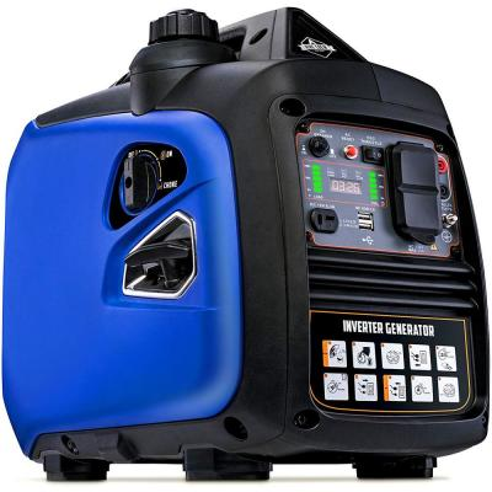 2200-Watt Ultra-Quiet Recoil Start Gasoline Powered Portable Inverter Generator