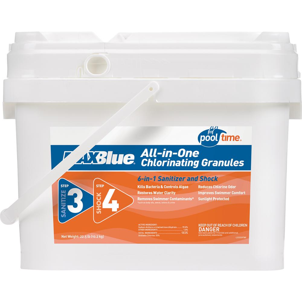 Pool Time Maxblue 22 5 Lb All In 1 Chlorinating Granules