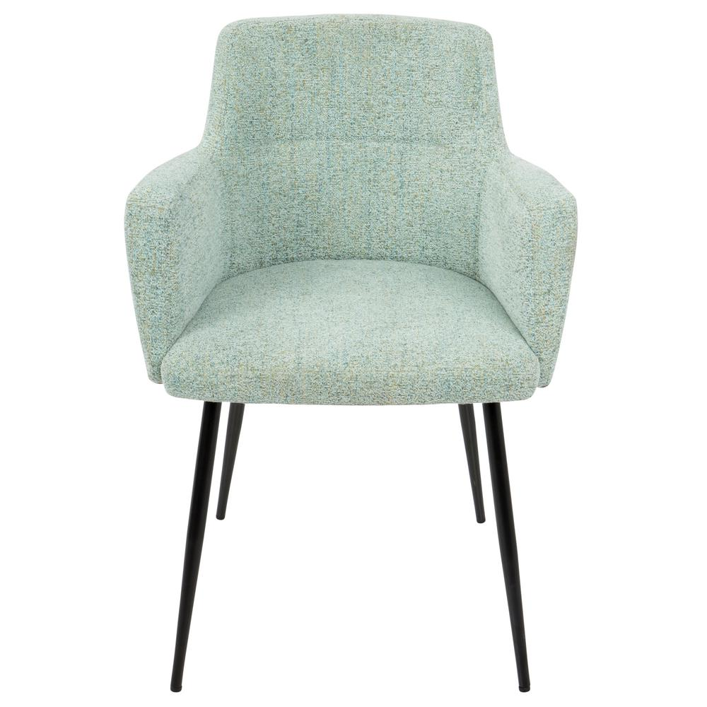 Superb Lumisource Andrew Contemporary Light Green Dining/Accent Chair (Set Of 2)