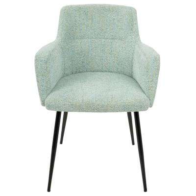 Andrew Contemporary Light Green Dining/Accent Chair (Set of 2)