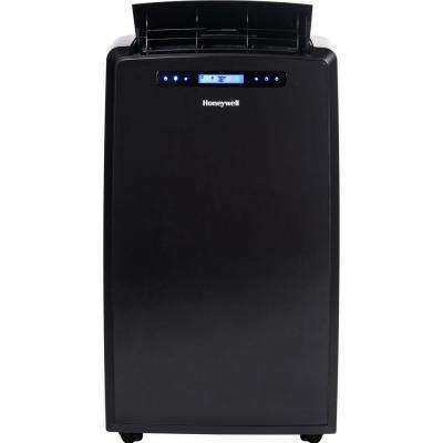 14,000 BTU Portable Air Conditioner with Dehumidifier and Remote Control - Black