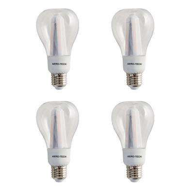 75-Watt Equivalent A21 3000K Dimmable 30,000 Hours Clear LED Light Bulb (4-Pack)
