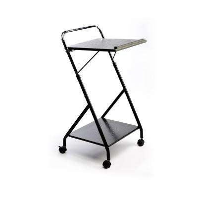 Dandy Black Workstation Trolley