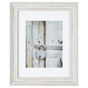 pinnacle gallery perfect 11 in x 14 in distressed white collage