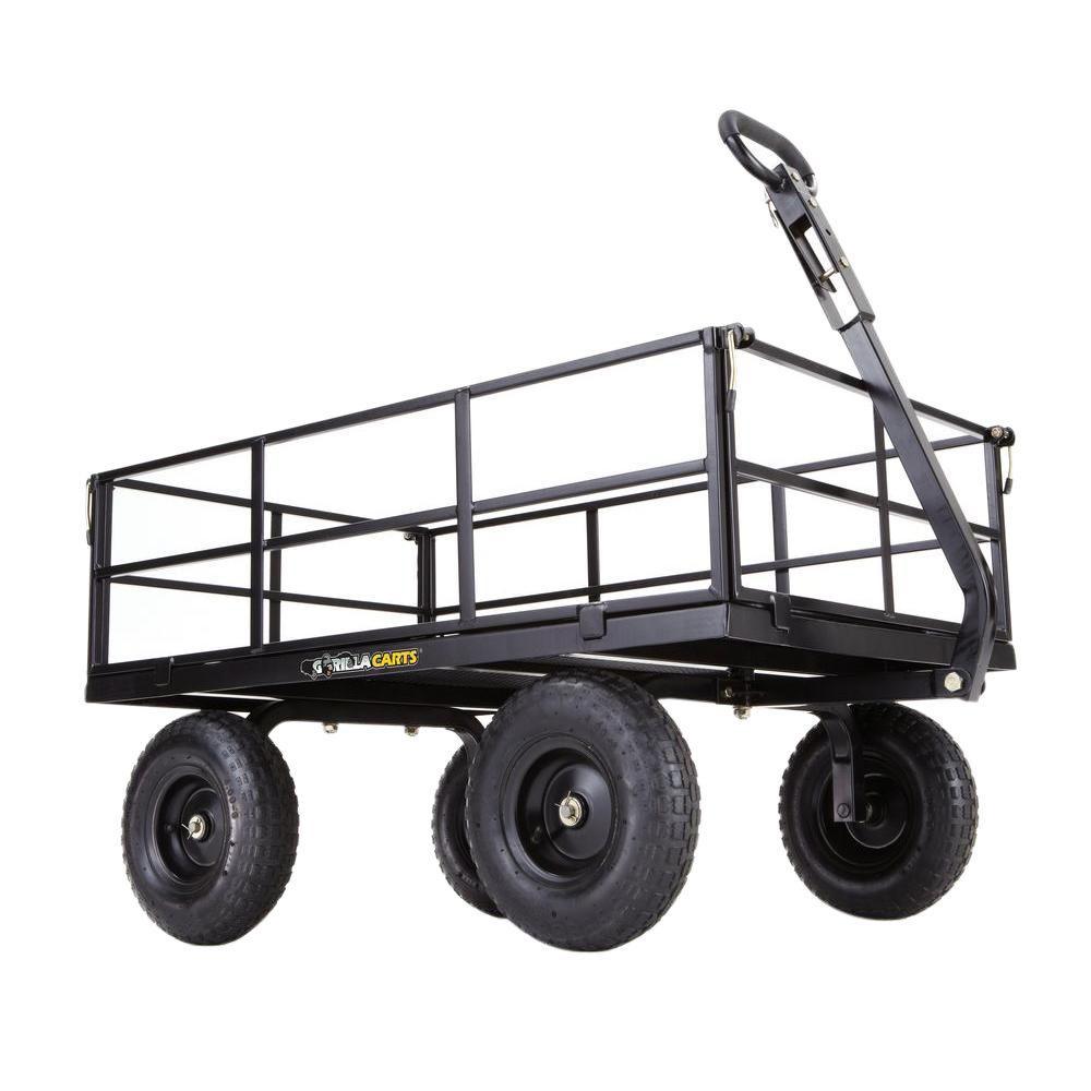 Gorilla Carts 1,200 lb. Heavy-Duty Steel Utility Cart by Gorilla Carts
