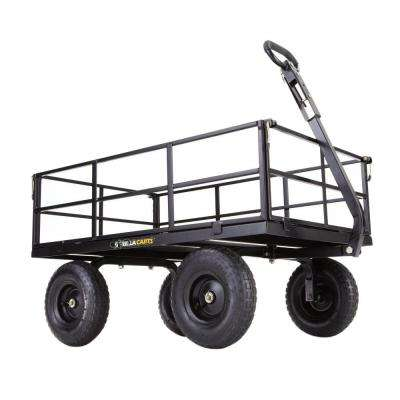 1,200 lb. Heavy-Duty Steel Utility Cart