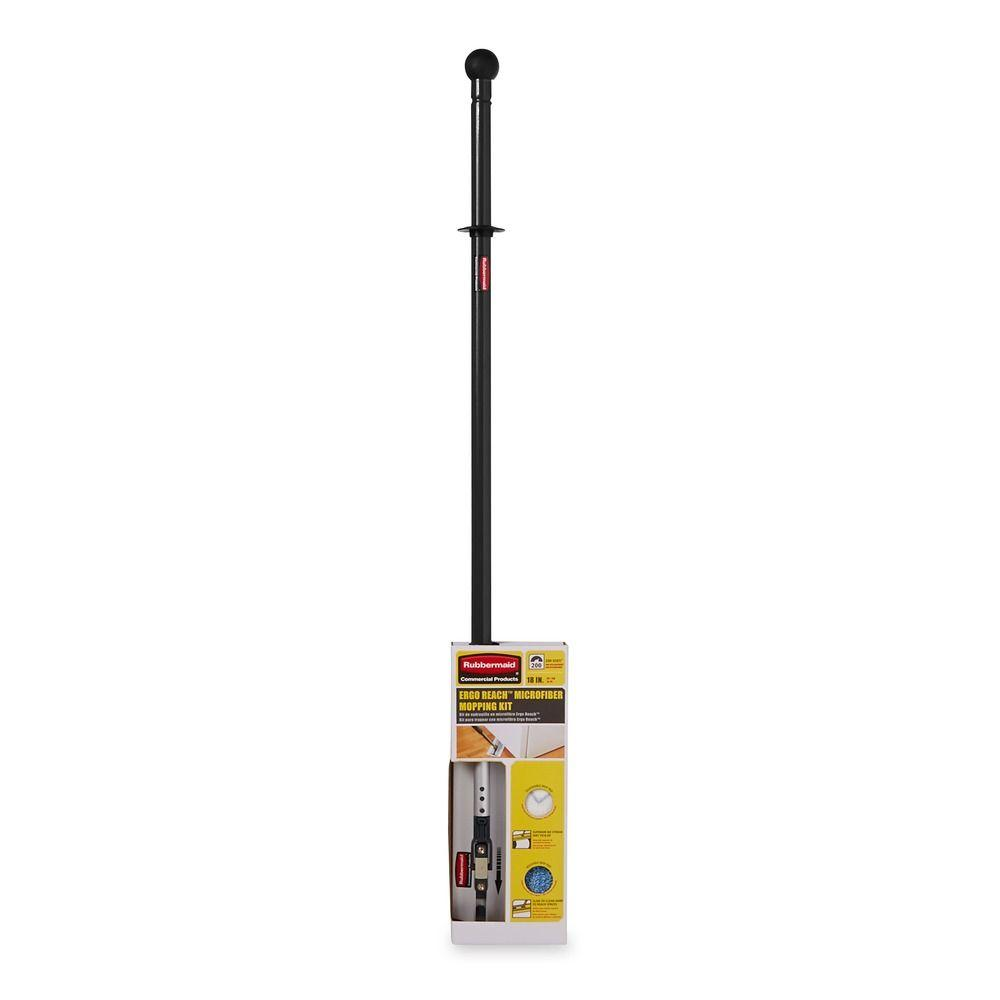Rubbermaid Commercial Products Ergo Reach Microfiber Mopping Kit