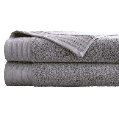 Oversized Quick Dry Bath Sheets in Gray Violet (2-Pack)