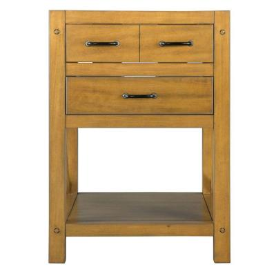 Avondale 24 in. Vanity Cabinet Only in Weathered Pine