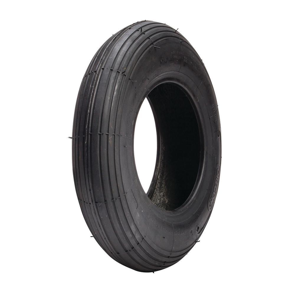 480/400-8 WB Rib 2-Ply Tire