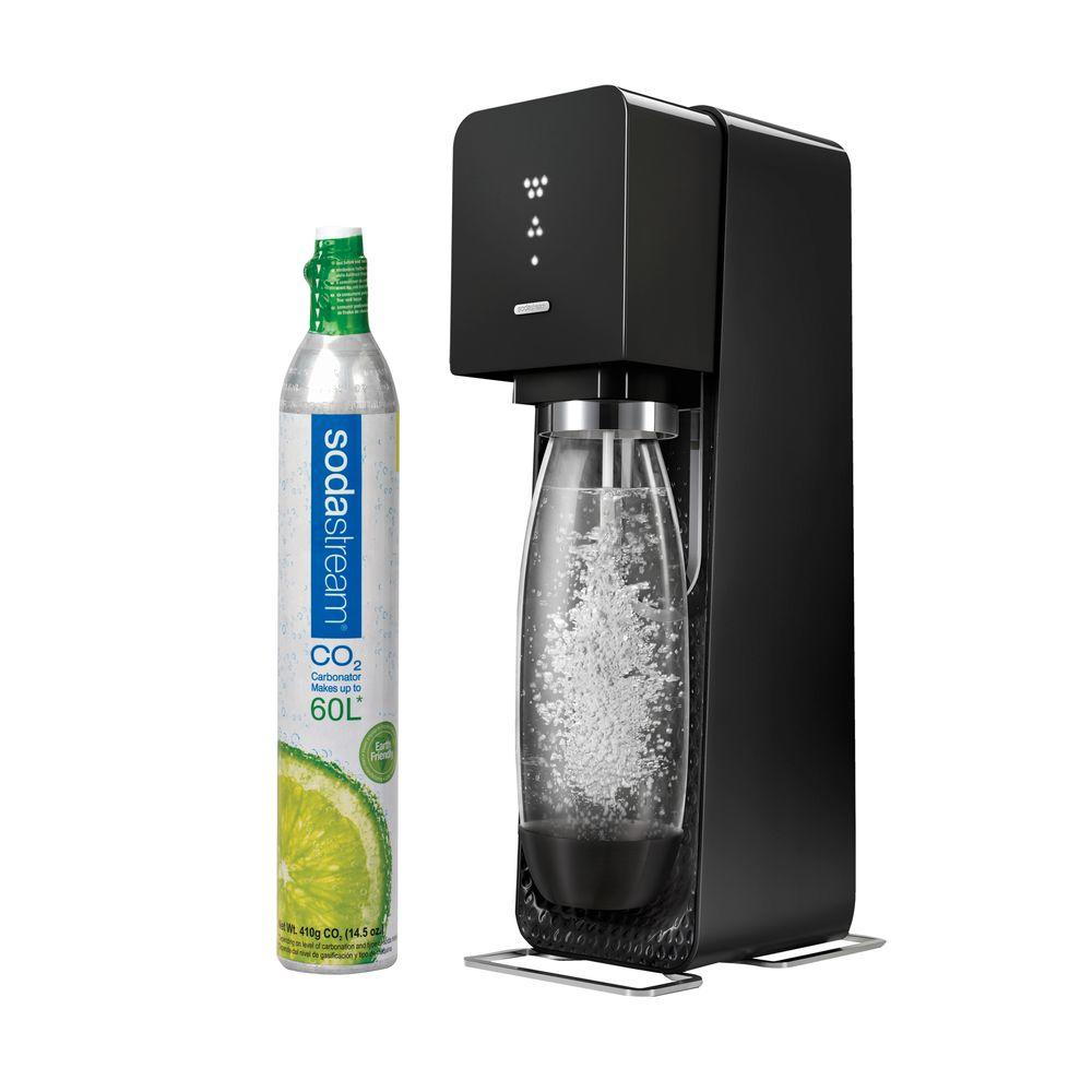 sodastream source home soda maker starter kit 1719511017 the home depot. Black Bedroom Furniture Sets. Home Design Ideas