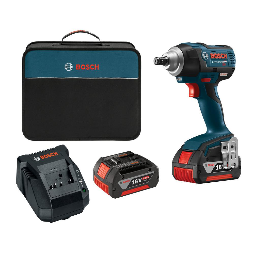 18-Volt Lithium-Ion Cordless EC Brushless 1/2 in. Square Drive Impact Wrench