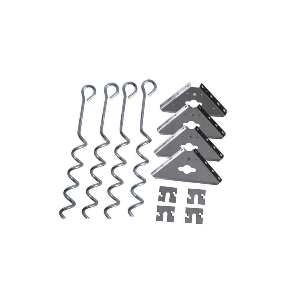 Arrow Steel Earth Anchor Kit