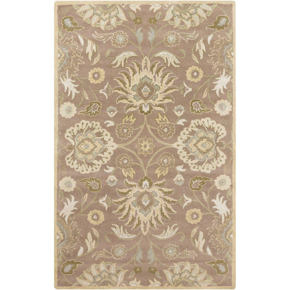 Cambrai Beige 9 ft. x 12 ft. Indoor Area Rug
