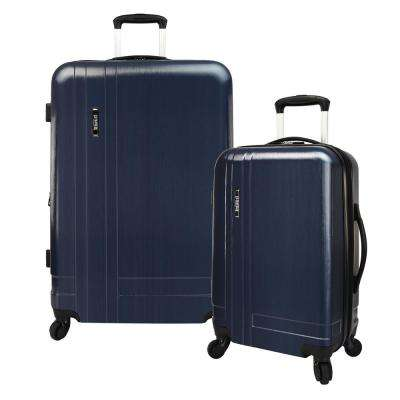 2-Piece Navy Lightweight Expandable Spinner Set