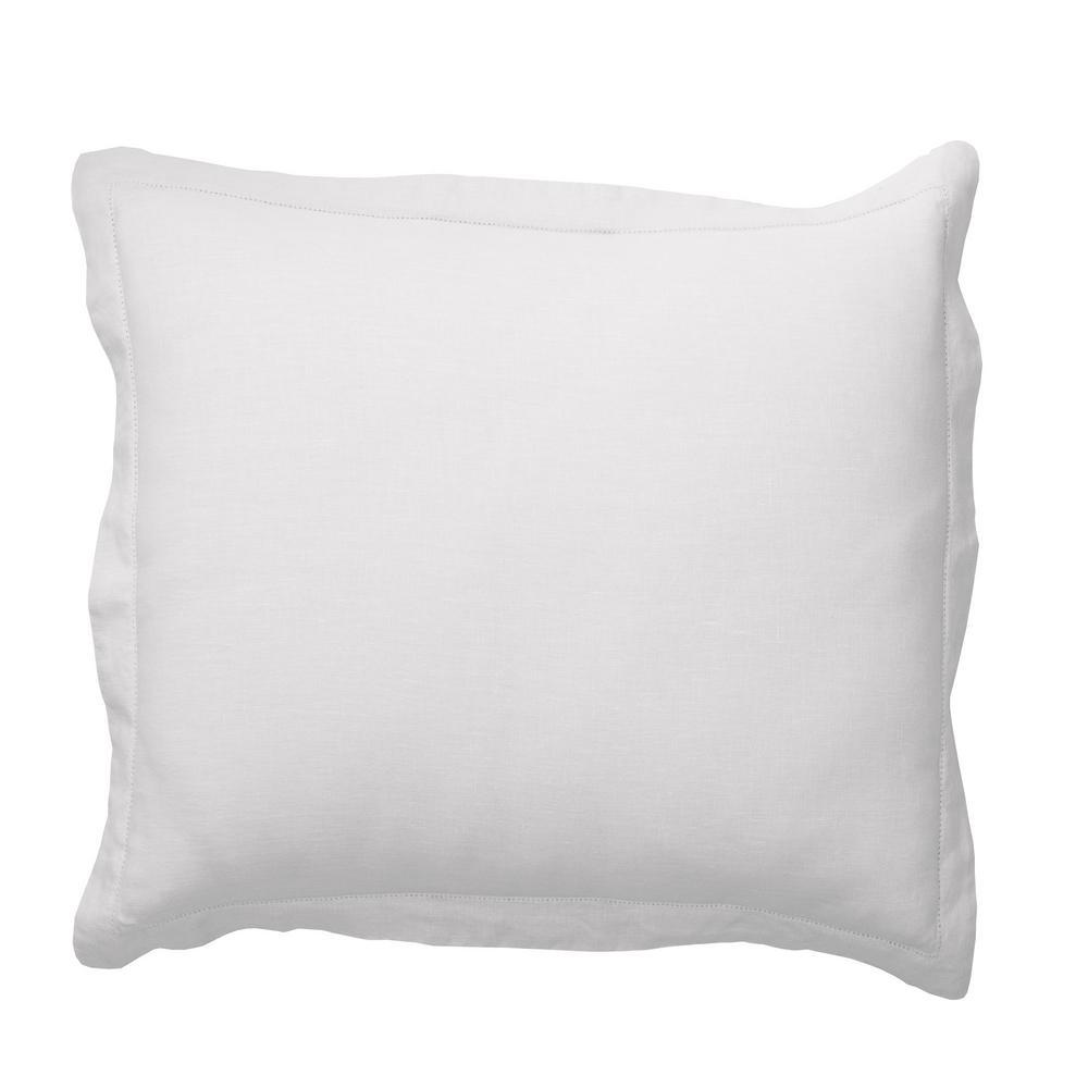 Comfort Wash Solid Linen Sham