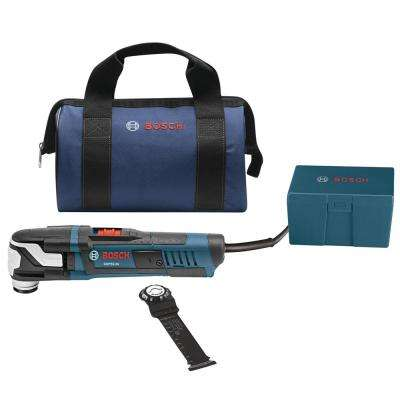 5.5 Amp Corded StarlockMax Variable Speed Oscillating Multi-Tool Kit with Carrying Bag (4-Piece)