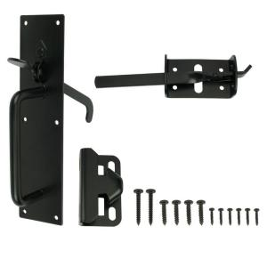 Everbilt Black Heavy Duty Gate Thumb Latch 20524 The
