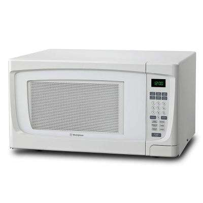 1.6 cu. ft. Countertop Microwave in White
