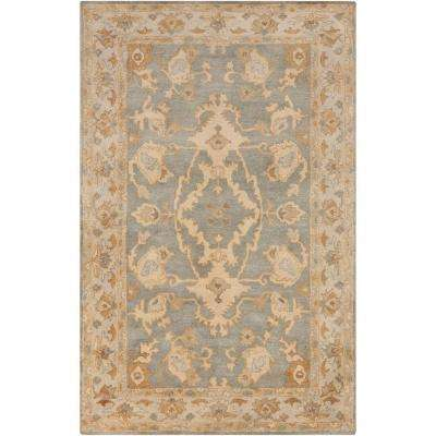 Qizil Moss 9 ft. x 13 ft. Indoor Area Rug