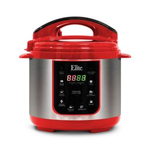 Click here to buy  4Qt. Electric Stainless Steel Pressure Cooker with 9 Fuctions.