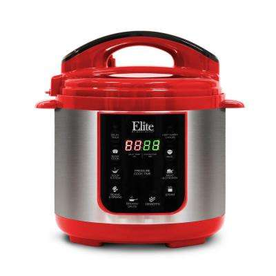 4Qt. Electric Stainless Steel Pressure Cooker with 9 Fuctions