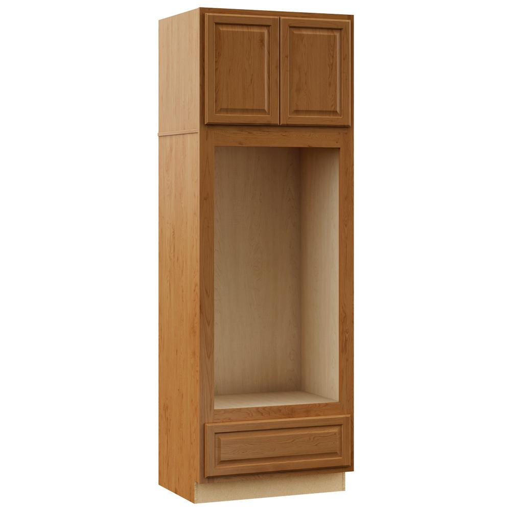 Kitchen Oven Cabinets: Hampton Bay Hampton Assembled 33 X 96 X 24 In. Pantry