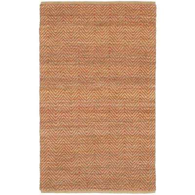 Natural Fiber Faroe Red 9 ft. x 12 ft. Indoor Area Rug