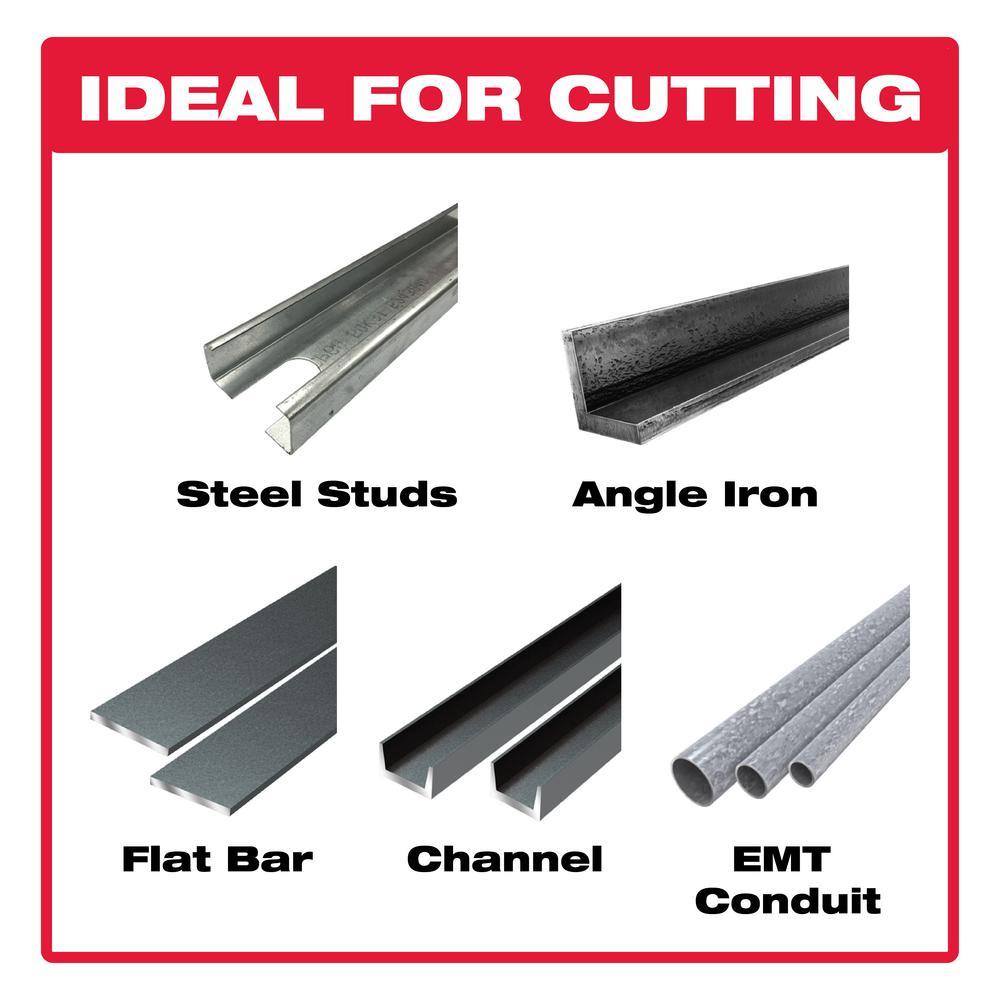 8 in. x 42-Tooth Steel Demon Cermet II Carbide Blade for Ferrous Metals & Stainless Steel