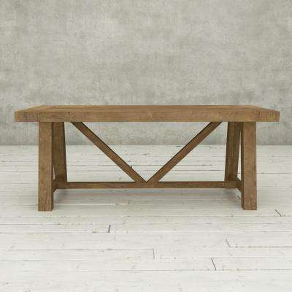 Andora 78 in. Natural Dining Table natural