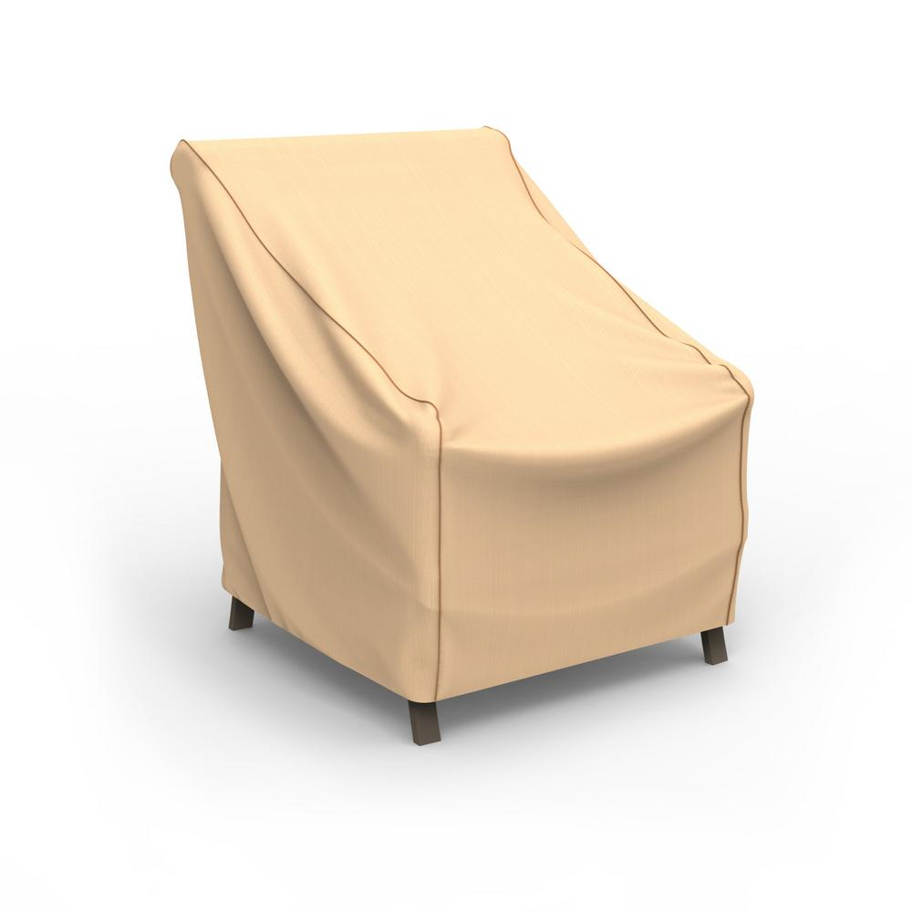 Budge Budge Rust-Oleum NeverWet Small Tan Outdoor Patio Chair Cover