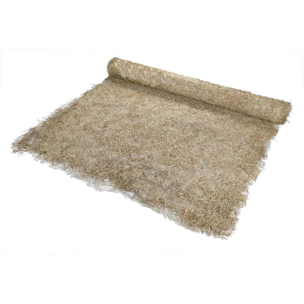 8 ft. x 112.5 ft. Polypropylene Single Net Straw Erosion Control  Blanket-17681-1-1125 - The Home Depot