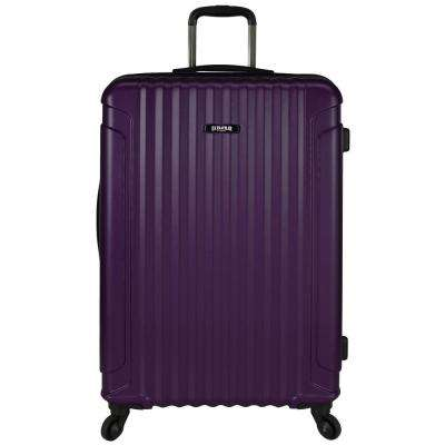 Akron 29 in. Hardside Spinner Luggage Suitcase, Purple