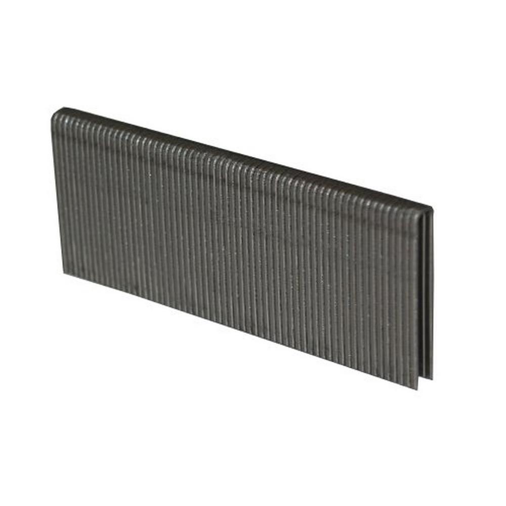 3/4 in. L 1/4 in. Narrow Crown 18-Gauge 304 Stainless Steel Staples (2,500-Piece)