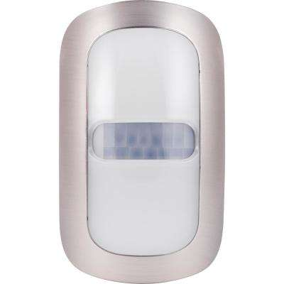 LED Motion-Activated Coverlite Night Light, Brushed Nickel