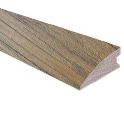 Burnished Straw / Tea 3/8 in. Thick x 1-1/2 in. Wide x 78 in. Length Hardwood Flush-Mount Reducer Molding